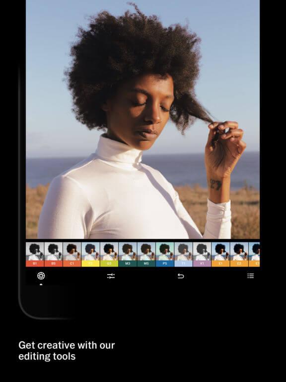 Download VSCO for iPad