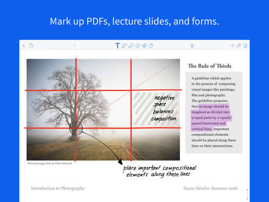 Download Notability for iPad