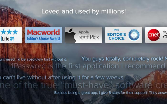 Download 1 Password for Mac