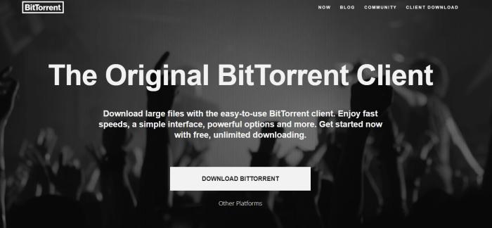 Download BitTorrent for iPad