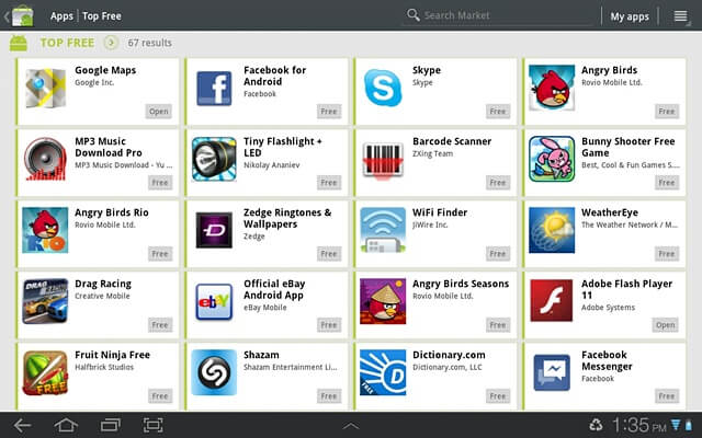 DownloadGoogle Play Store for iPad