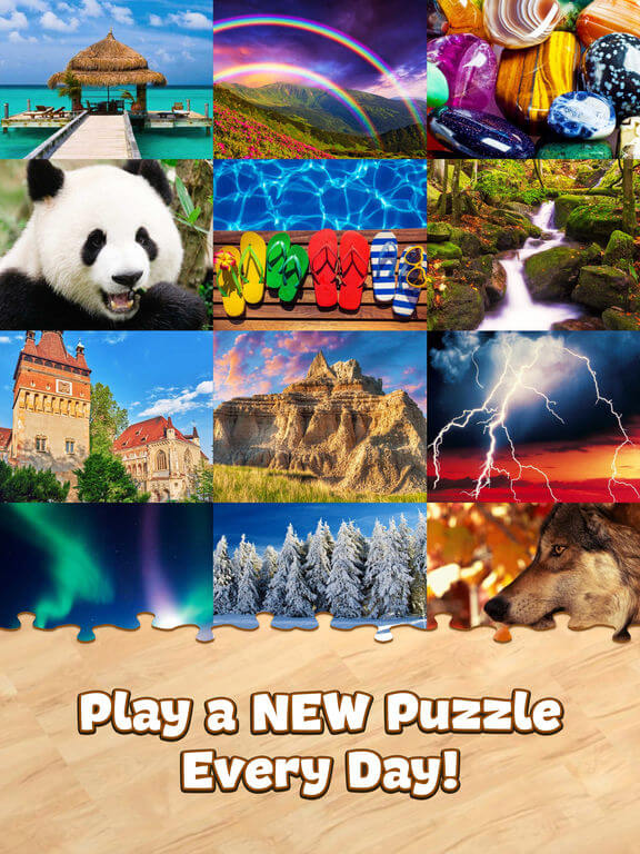 Download Jigsaw Puzzle for iPad