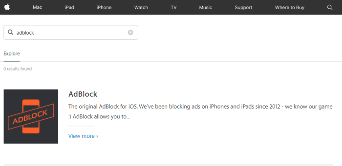 Download Adblock for iPad
