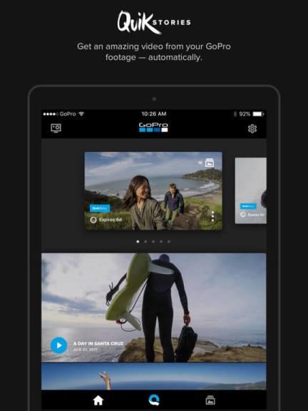 Download GoPro App for iPad