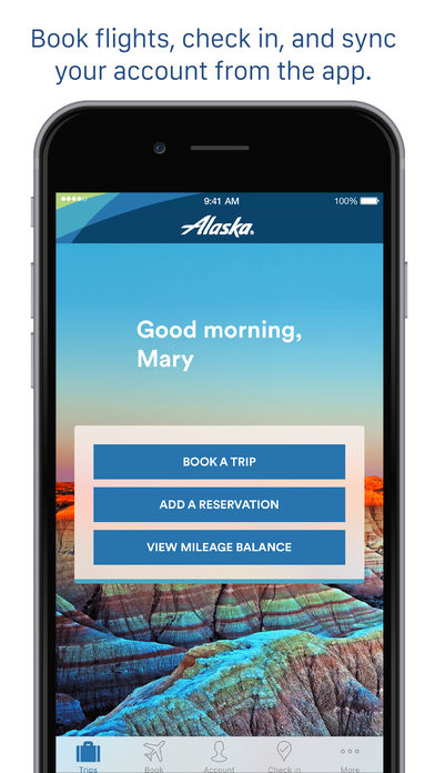 Alaska Airlines App for iPad Free Download
