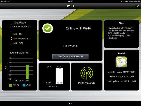 Download Etisalat App for iPad