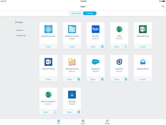 Download VMware for iPad