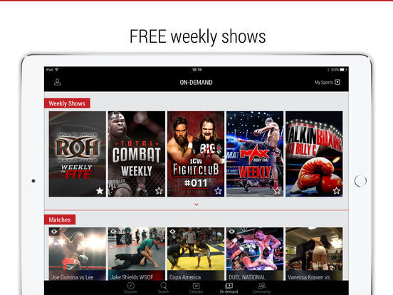 Download Live Boxing Stream for iPad