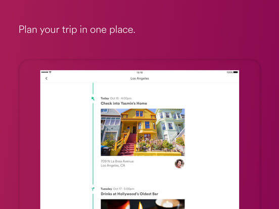 Download Airbnb App for iPad