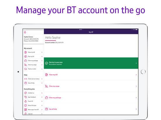 Download My BT App for iPad