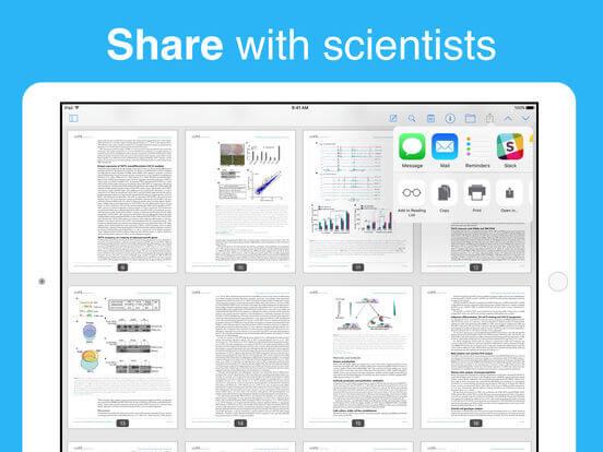 Download Zotero for iPad