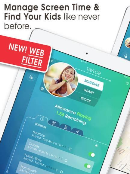 Download Parental Control app for iPad
