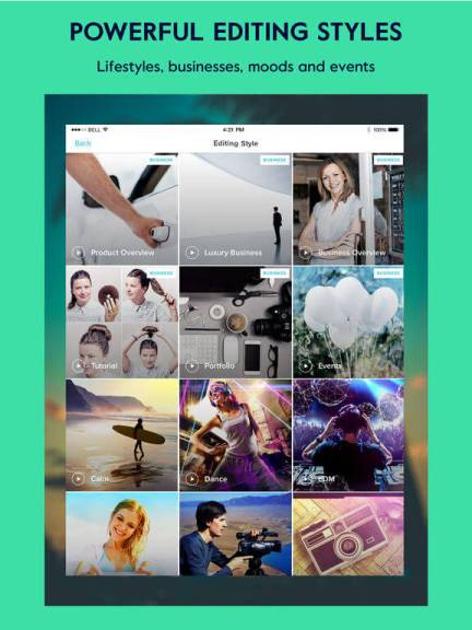 Download Video Editing App for iPad