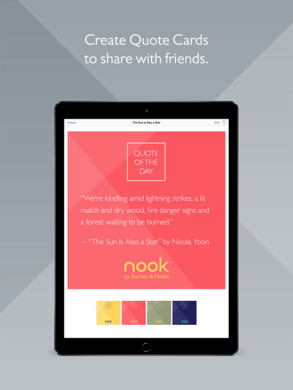 Nook App for iPad Free Download