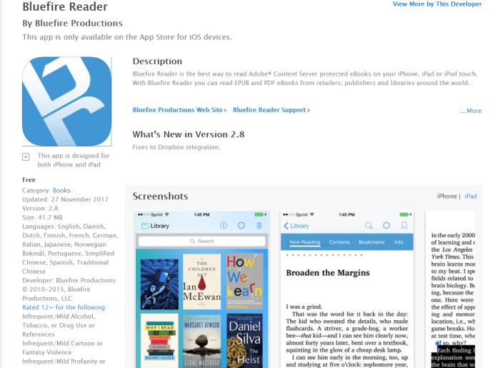 Download eBook Reader for iPad