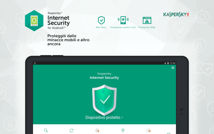 Download Kaspersky for iPad