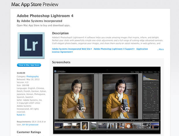 Download Adobe Lightroom for Mac