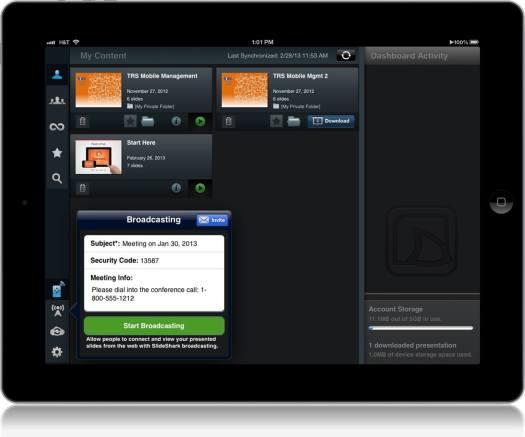 Download Presentation App for iPad