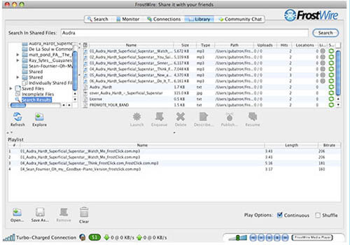 Download FrostWire for Mac