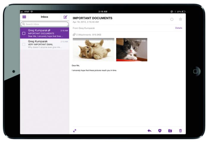 Download Yahoo for iPad