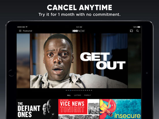 Download HBO for iPad