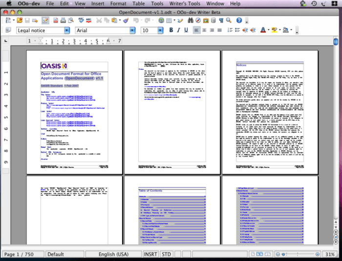 Download OpenOffice for Mac