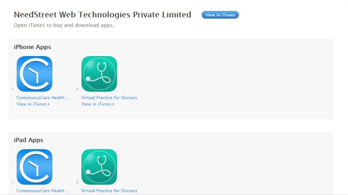 Download Health App for iPad