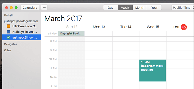 Download Google Calendar for Mac