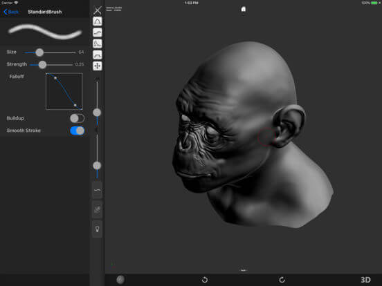 Download ZBrush for iPad