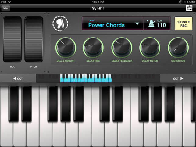 Download Synth App for iPad