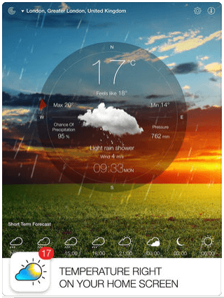 Download Apple Weather App for iPad