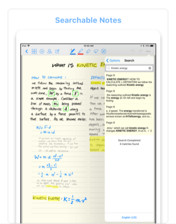Download Writing Notes App for iPad