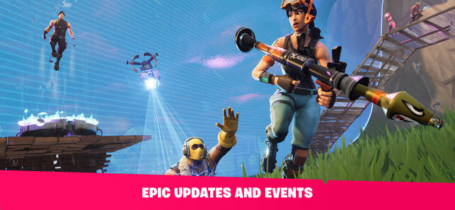 Download Fortnite for iPad
