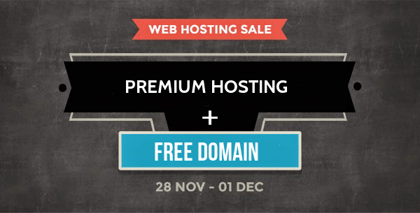 hosting deal with free domain - Best Christmas Deals 2014