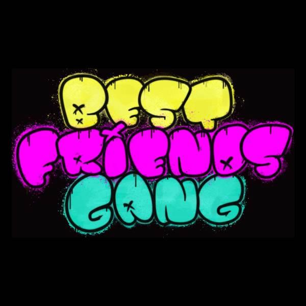 Best Friends Gang Graffiti Tee | Twitch Streamer Merch | BestFriendsGang.tv