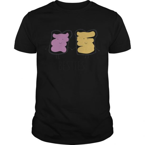 Peanut Butter And Jelly, The Original Besties Kids' T Shirt