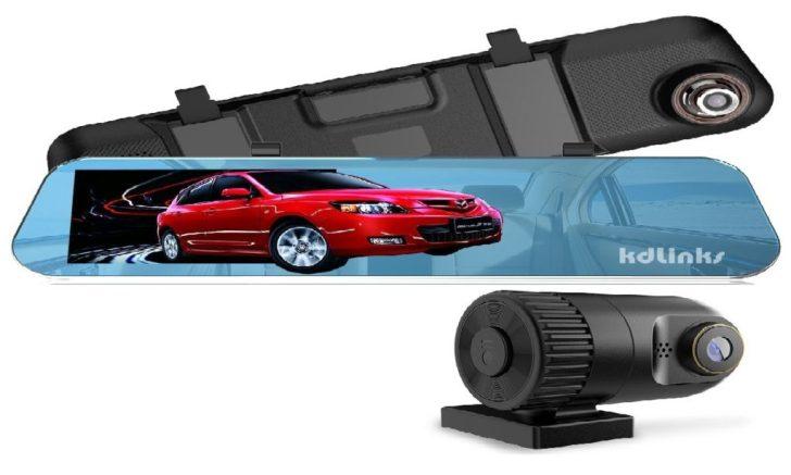 KDLINKS R100 HD Review Dual Dash Cam