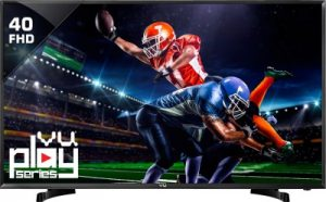 best tv under 30000 in india - Vu 40D6575