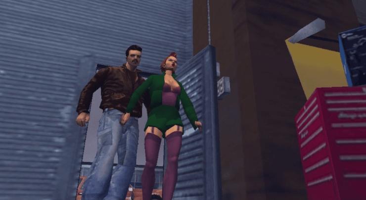 GTA III game for playstation 2