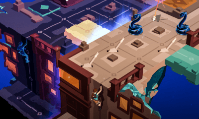Lara Croft GO puzzle game
