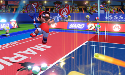 Mario Tennis Aces nintendo switch game