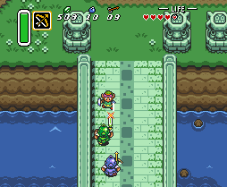 Zelda A Link to the Past snes game