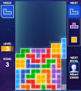 tetris puzzle game
