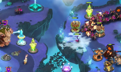 Castle Creeps tower defense game