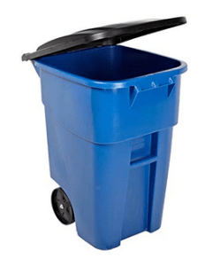 Best 50 – Gallon Outdoor Garbage Can with Locking Lid
