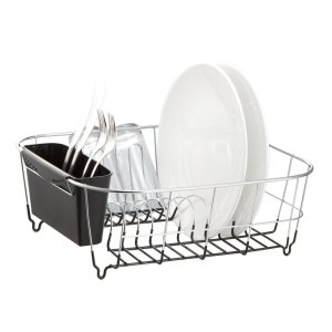 chrome dish holder