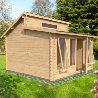 Log Cabin Review:  Waltons Deco Log Cabin