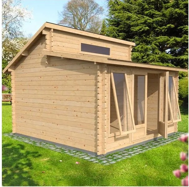 Waltons Deco Log Cabin