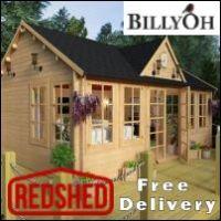 Billyoh Log Cabins - RedShed