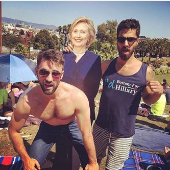 Id bottom for Hillary